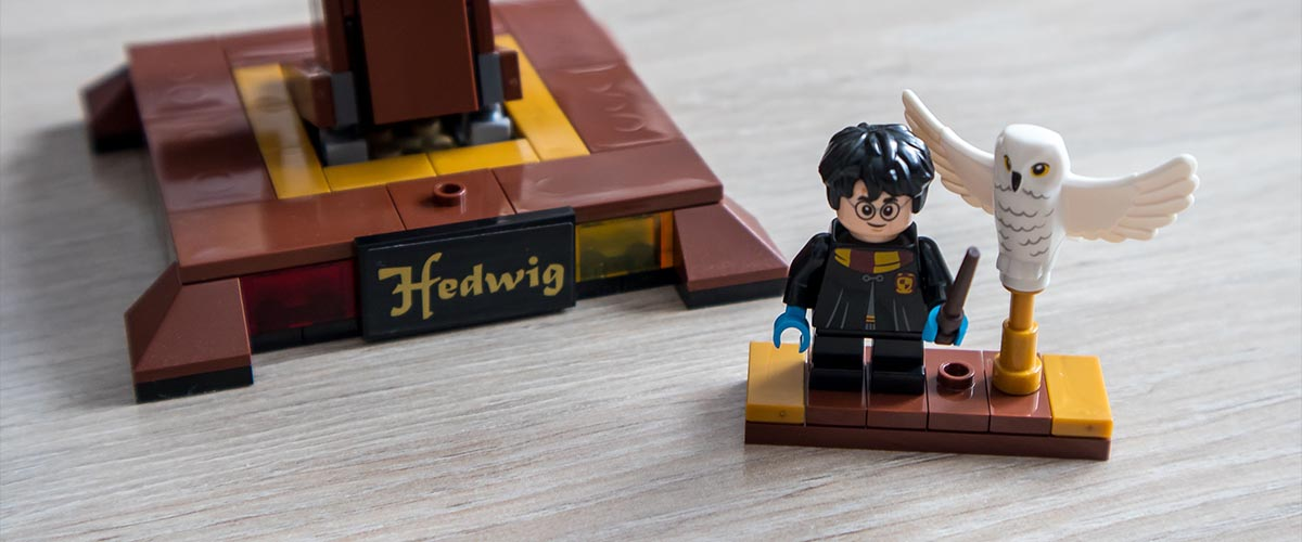 LEGO fan interview with Bricks Easy - Harry Potter minifigures