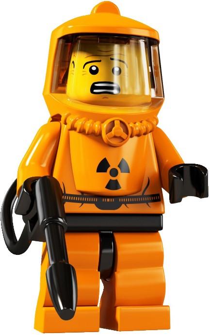 LEGO Hazmat suit guy. Image: Brickset / LEGO