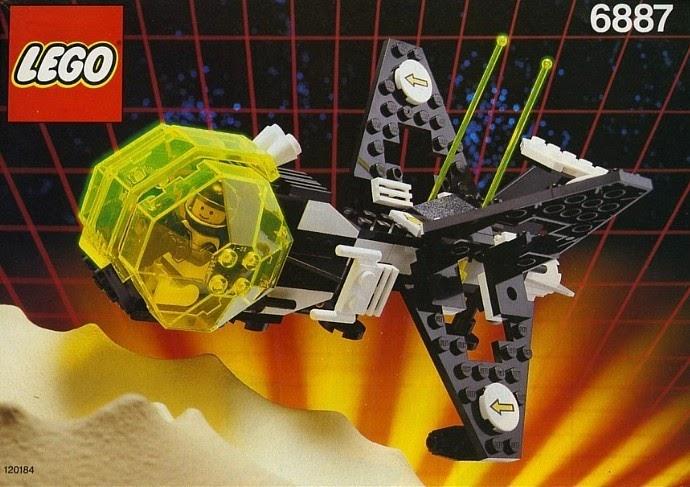 LEGO 6887 spaceship - image by Brickset