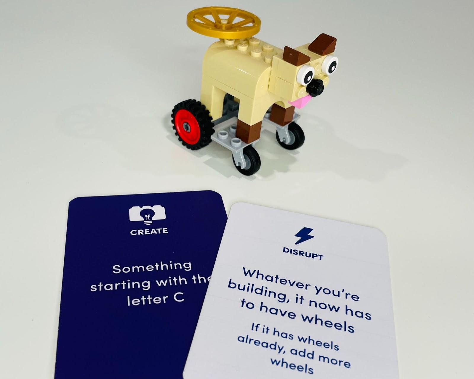 The Idea Brick - LEGO card games - Angus Deacon