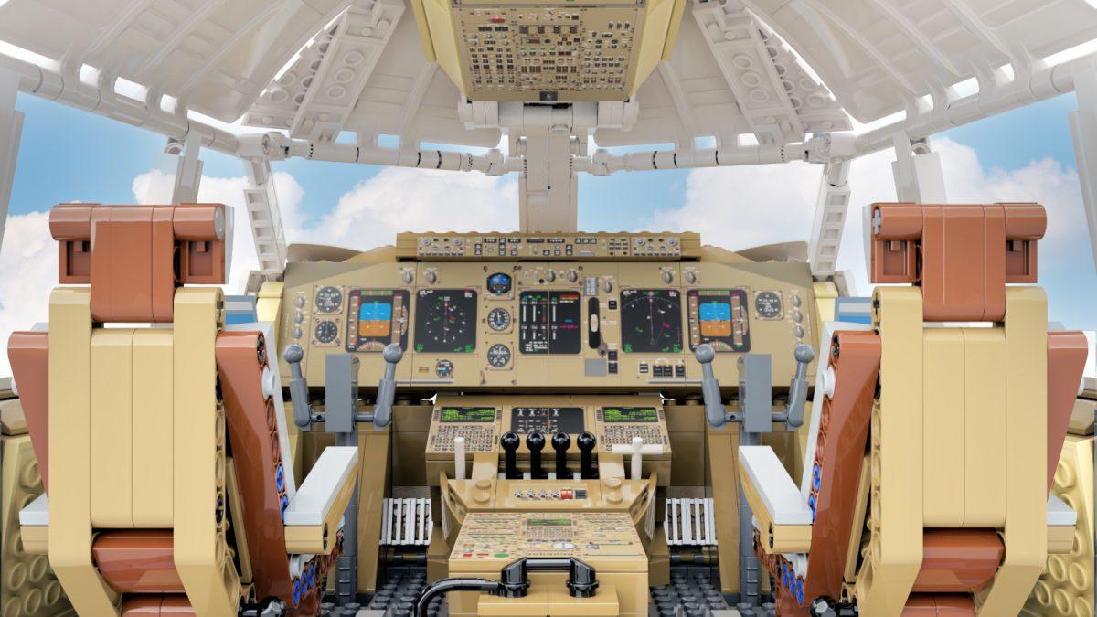 LEGO Boeing 747 model by Daz Jones - LEGO Ideas